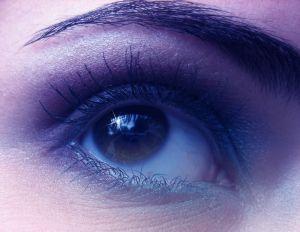smink kék szemhez