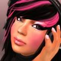 Pink szemfestés